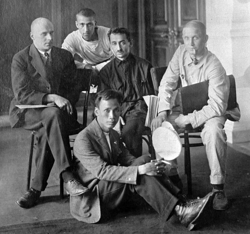 Хо Ши Мин по време на V-я комунистически интернационал, Москва, 1924 г.
