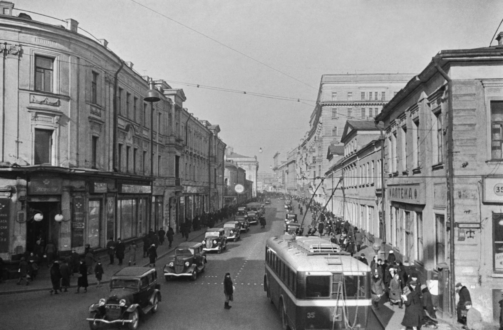 Tverska ulica je u sovjetsko doba nosila naziv Ulica Gorkog