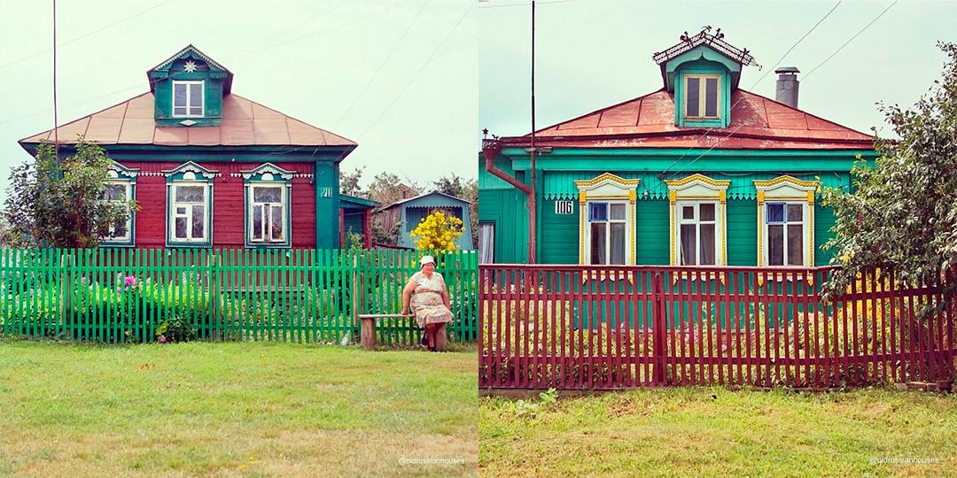 Der Instagram-Account @oldrussianhouses postet Fotos von typischen Holzhäusern, die man fast überall in Russland finden kann, wenn man einige Kilometer von einer großen Stadt entfernt läuft.
