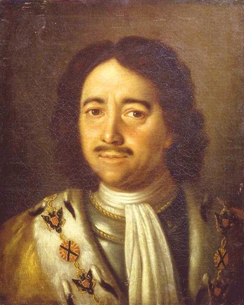 Peter I., Ölgemälde von Alexei Antropow, 1772