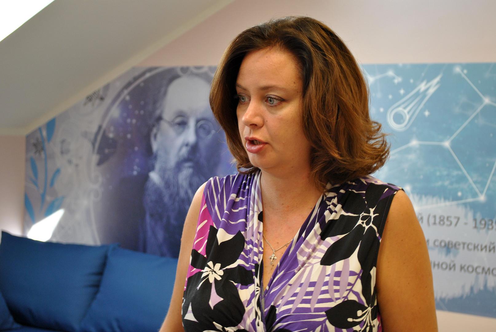 Директорка школе Јелена Ељнатанова.