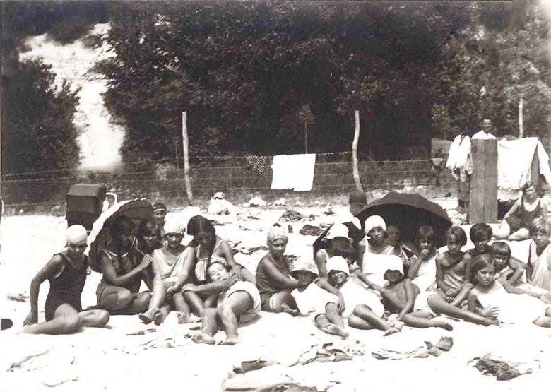 Руски деца в санаториум във Варна, 1928 г.