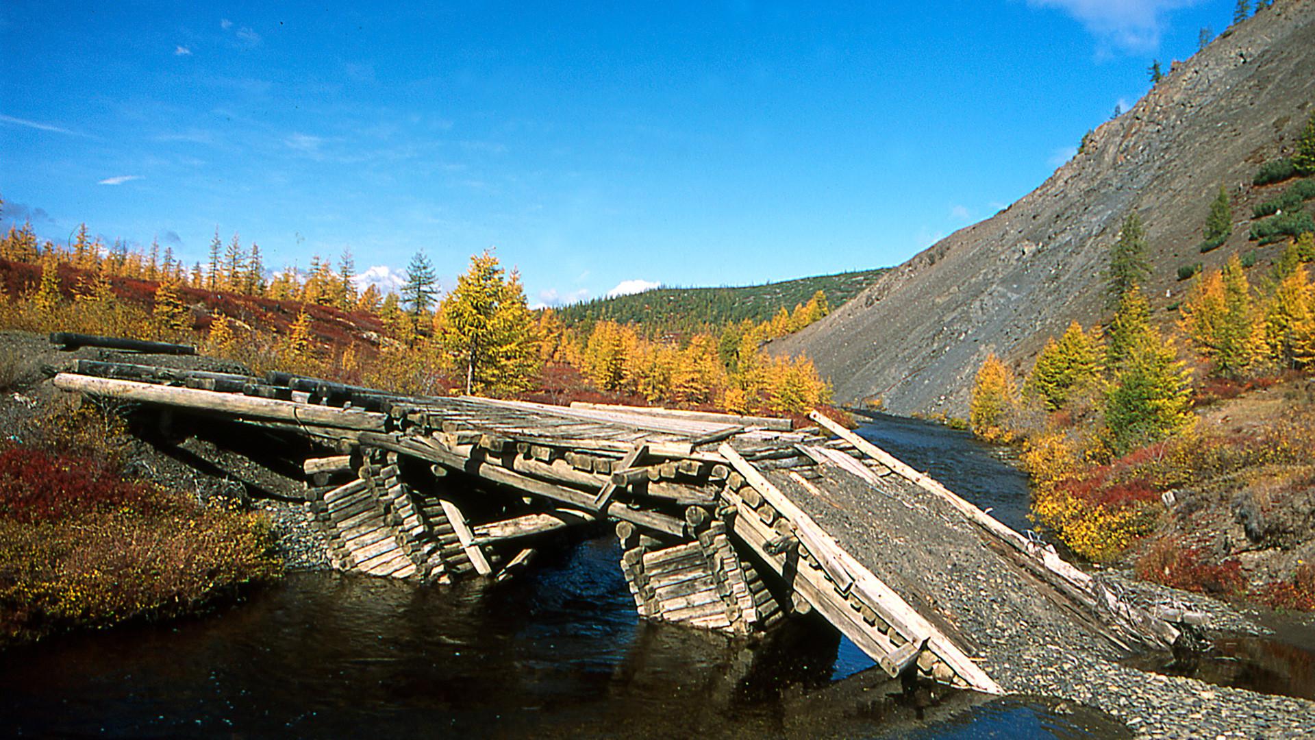 Gold-mining. Kolyma.