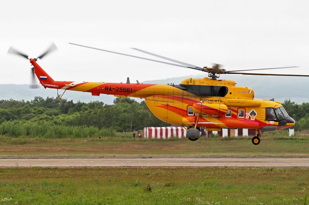 El helicóptero Mil Mi-8MTV-1 de Rosneft
