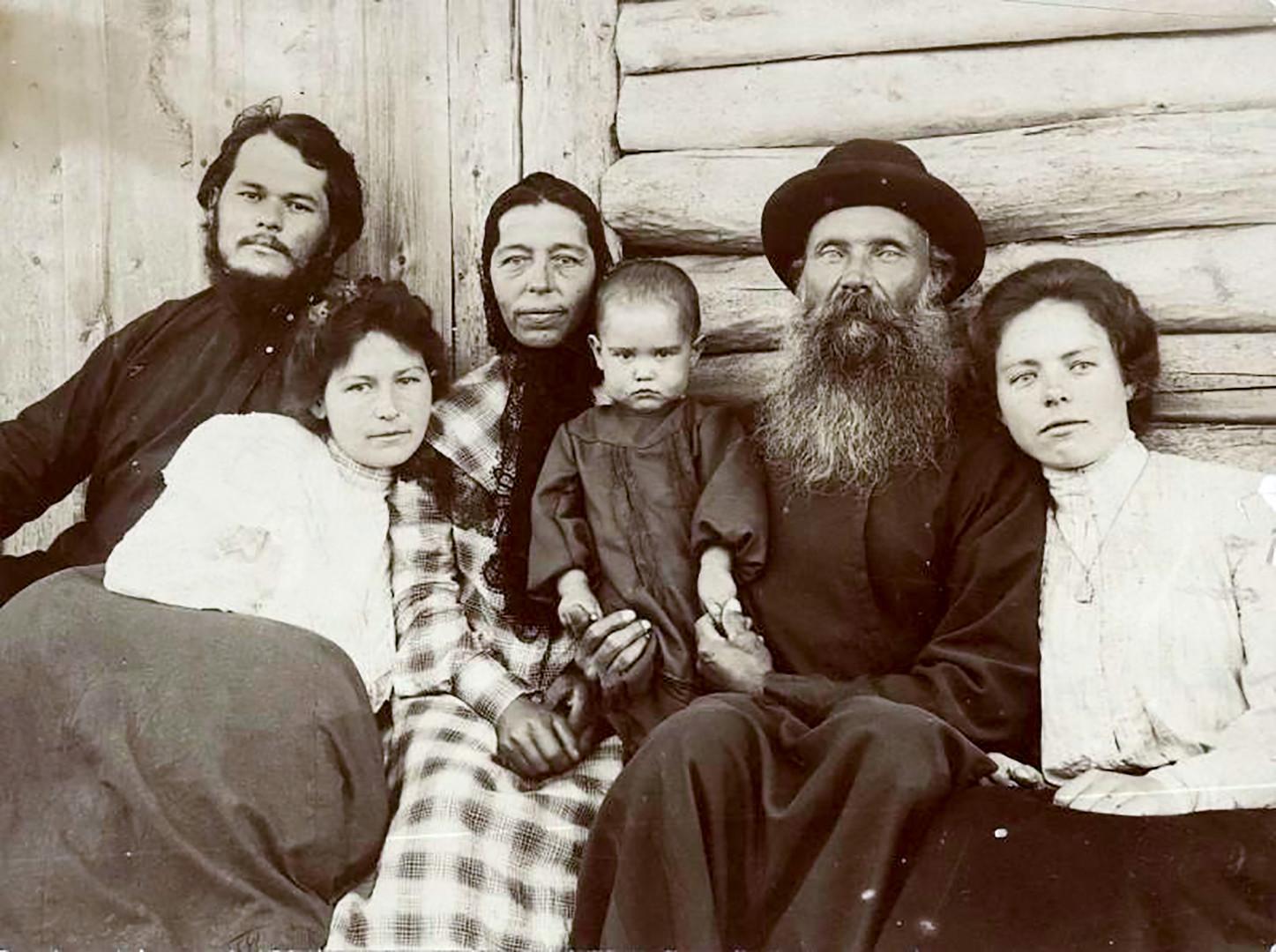 Portrait of a burgess family.