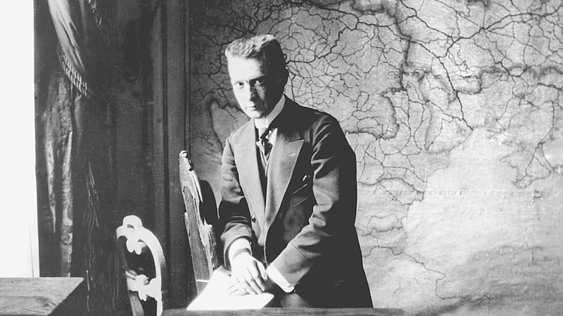 А. Керенски у септембру 1917. године.