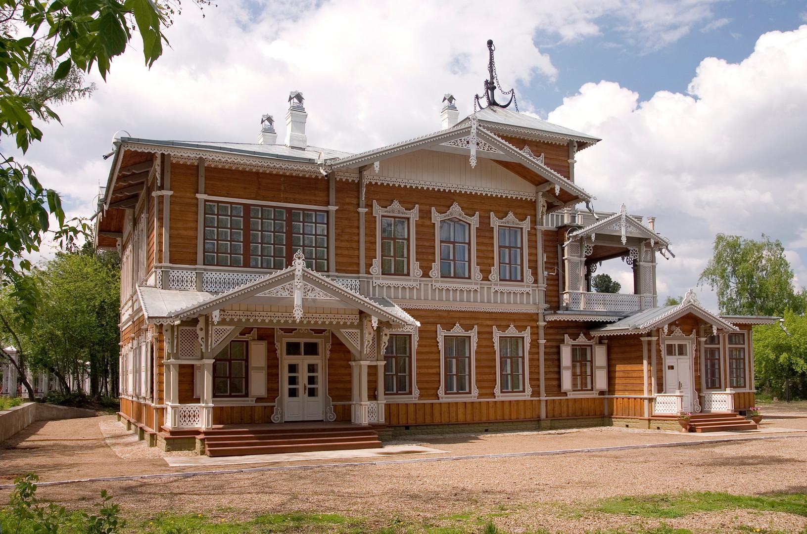 Anwesen von W. P. Sukatschew, Bau Ende des 19. Jahrhunderts, heute eine Gemäldegalerie