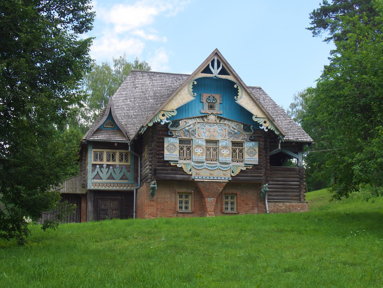 Verzauberkunst Russisches Holzhaus Sammlung Von Eum