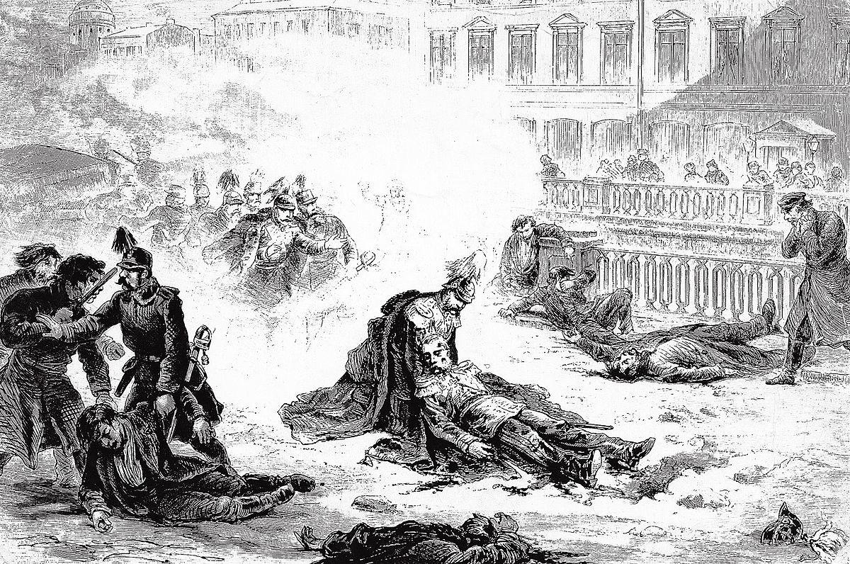 Am 13. März 1881 fiel Alexander II. einem Attentat zum Opfer.