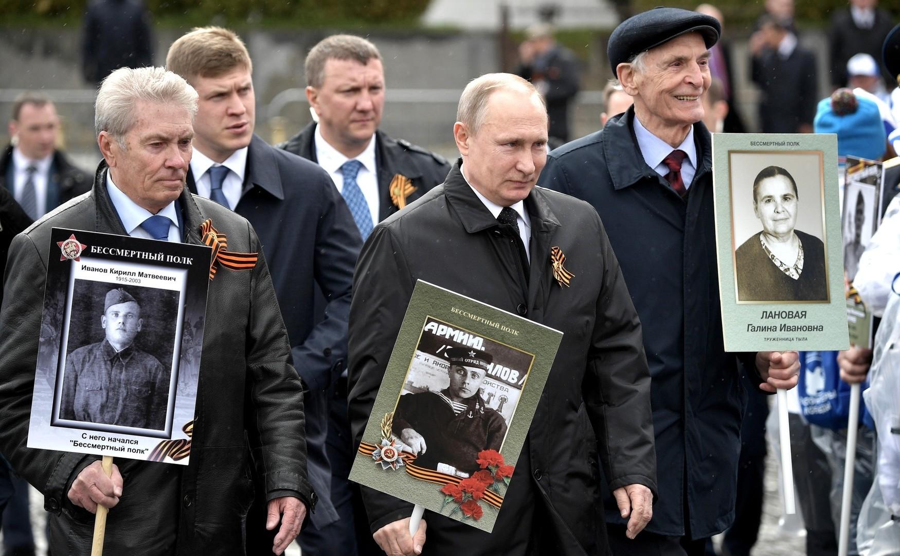 Василиј Лановој и Владимир Путин.