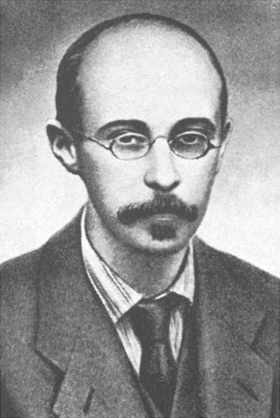Der russische Physiker Alexander Friedmann