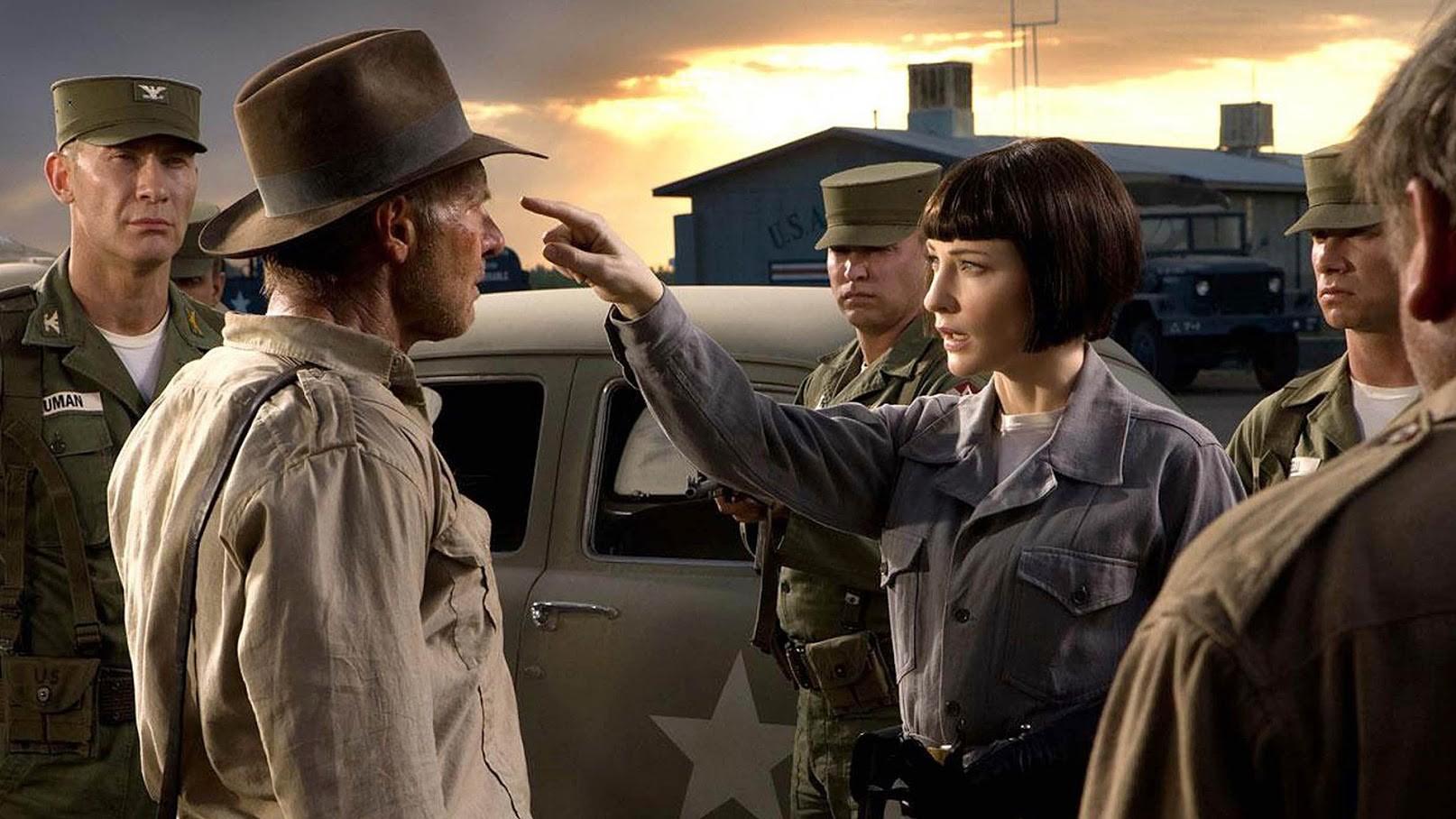Irina Spalko, Indiana Jones in Kraljestvo kristalne lobanje (2008).