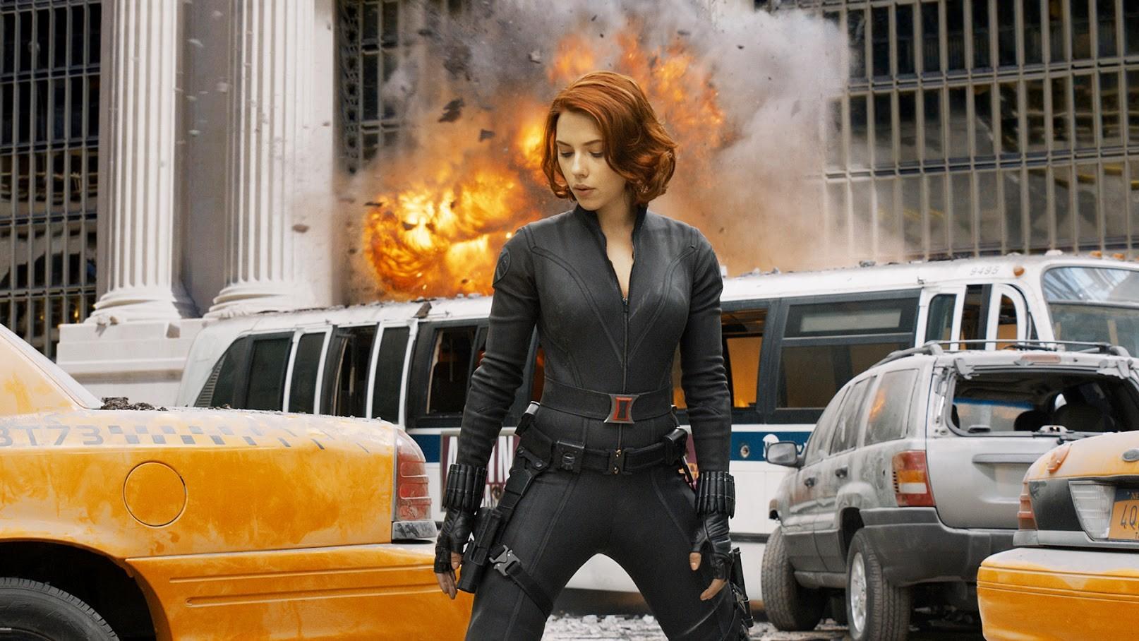 Nataša Romanova, Maščevalci (The Avengers, 2012).