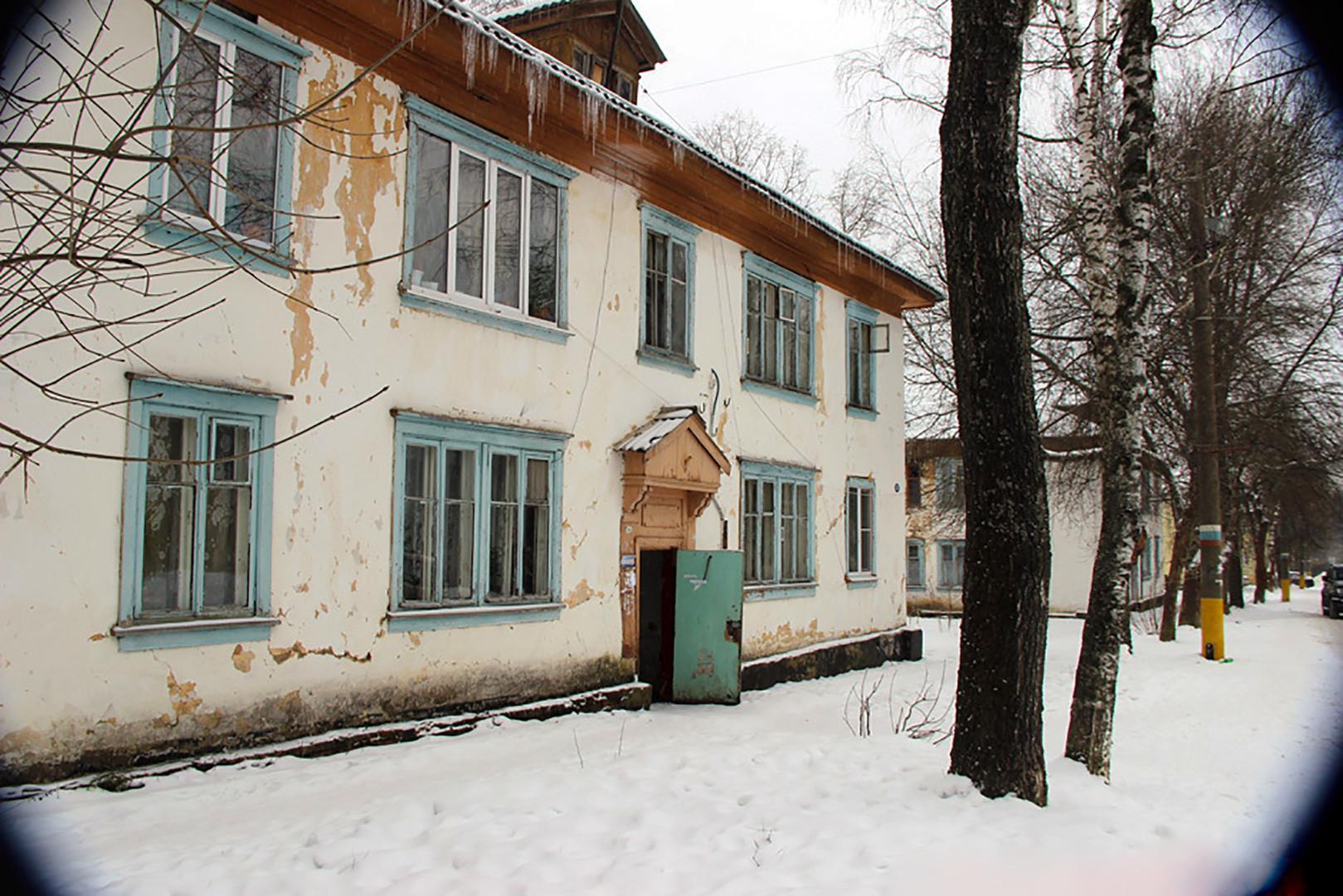 El centro virológico soviético Zagorsk-6, región de Moscú