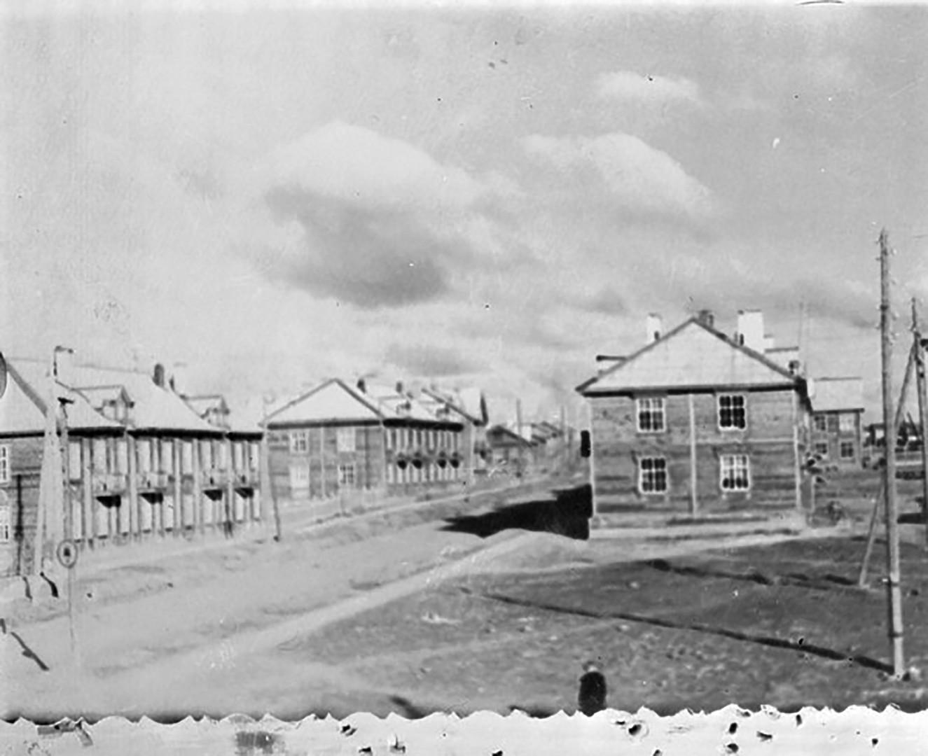 El pueblo Sverdlovsk-45, (actualmente Lesnói), óblast de Sverdlovsk