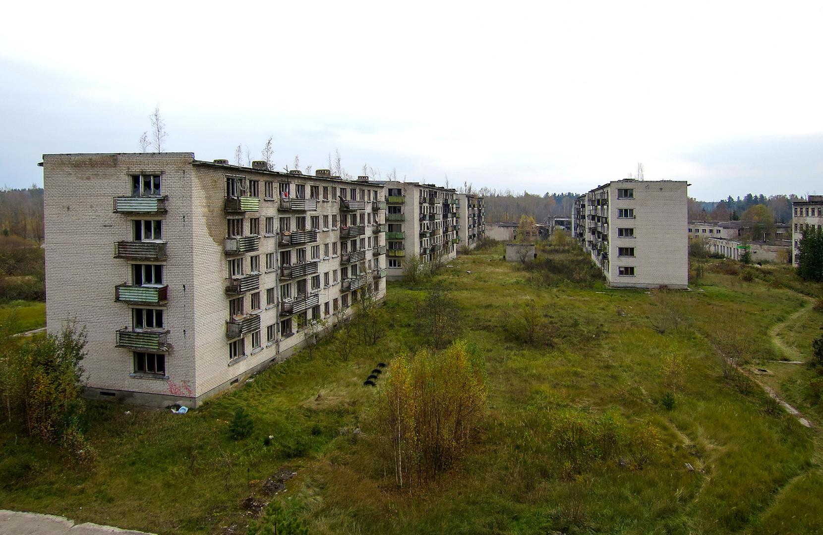 La ciudad cerrada Skrunda-1, Letonia