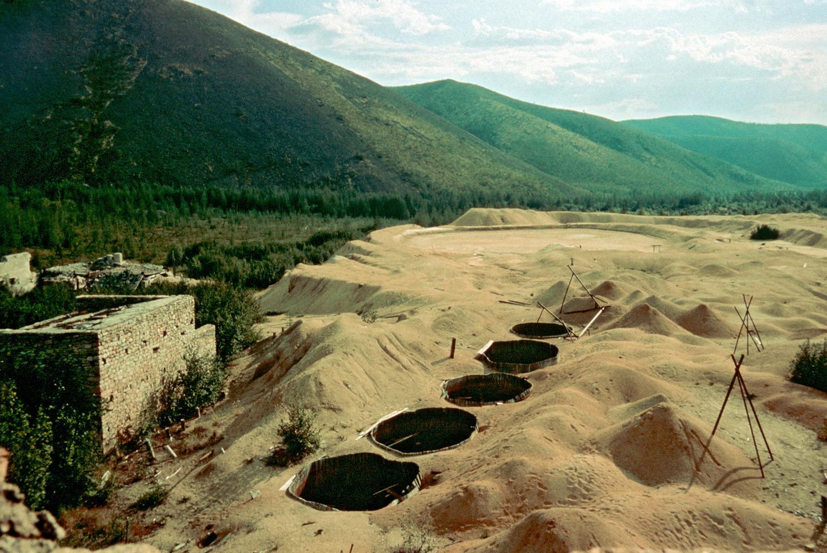 Viele Häftlinge im Butugyschag-Lager förderten Zinn und Uranium manuell. Ohne Schutzanzug.