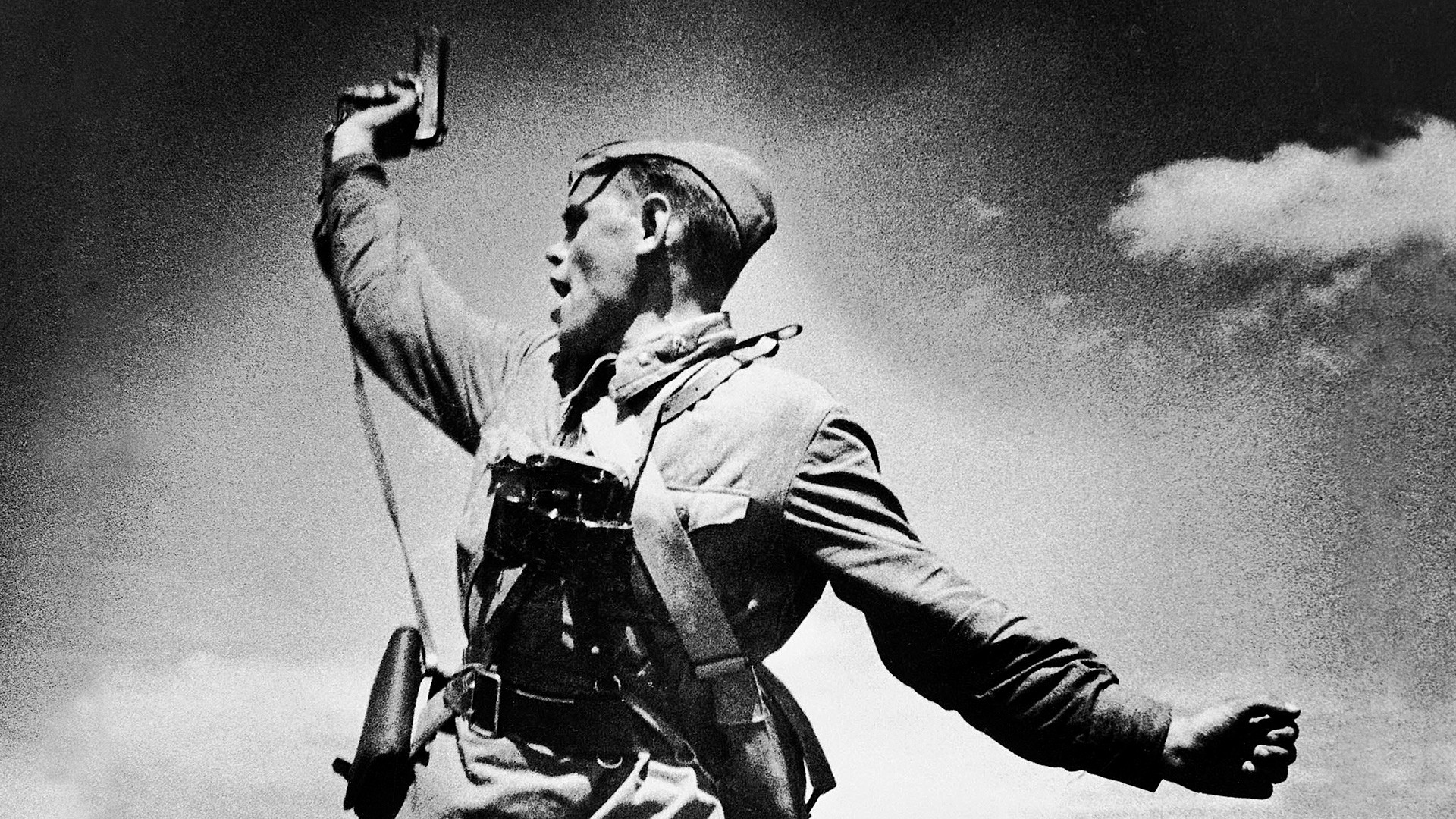 The Soviet Union suffered colossal losses in World War II, but emerged victorious.