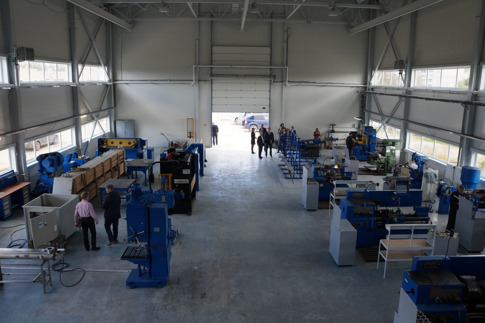 Proizvodna hala podjetja Aleksandra plus.