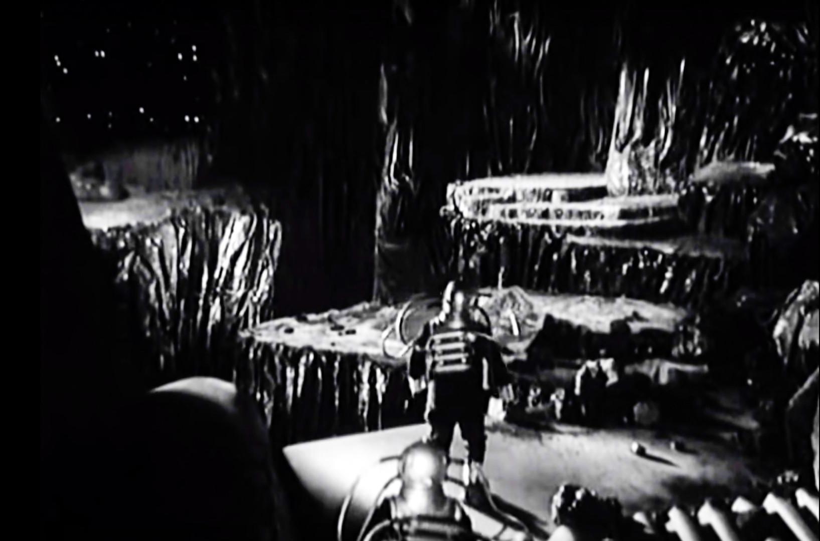 Vesoljsko potovanje. Prizor iz filma.