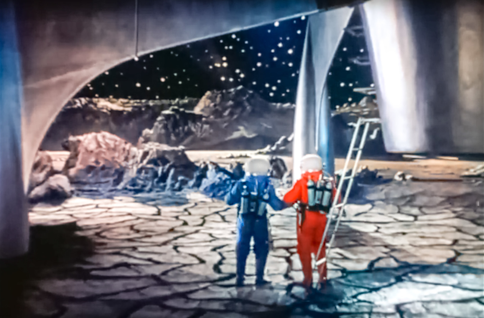 Cilj: Luna. Prizor iz filma.