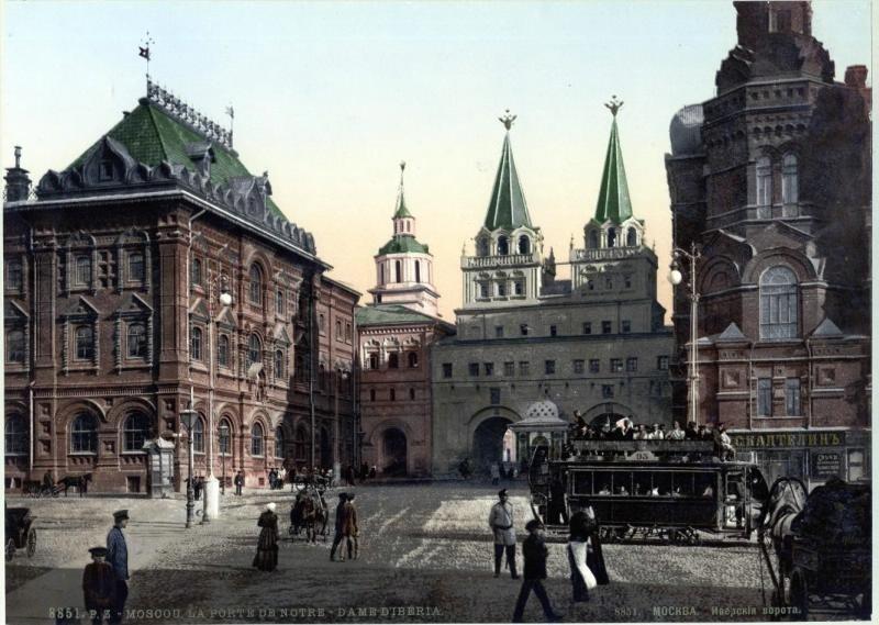Иверските врати, 1900-1910-те.