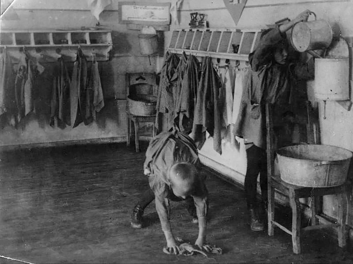 Ein Kinderheim in den 1920er Jahren