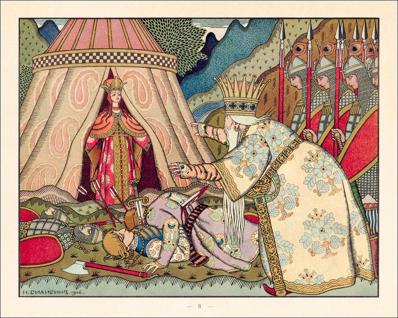 L'opéra Coq d'Or (1909).