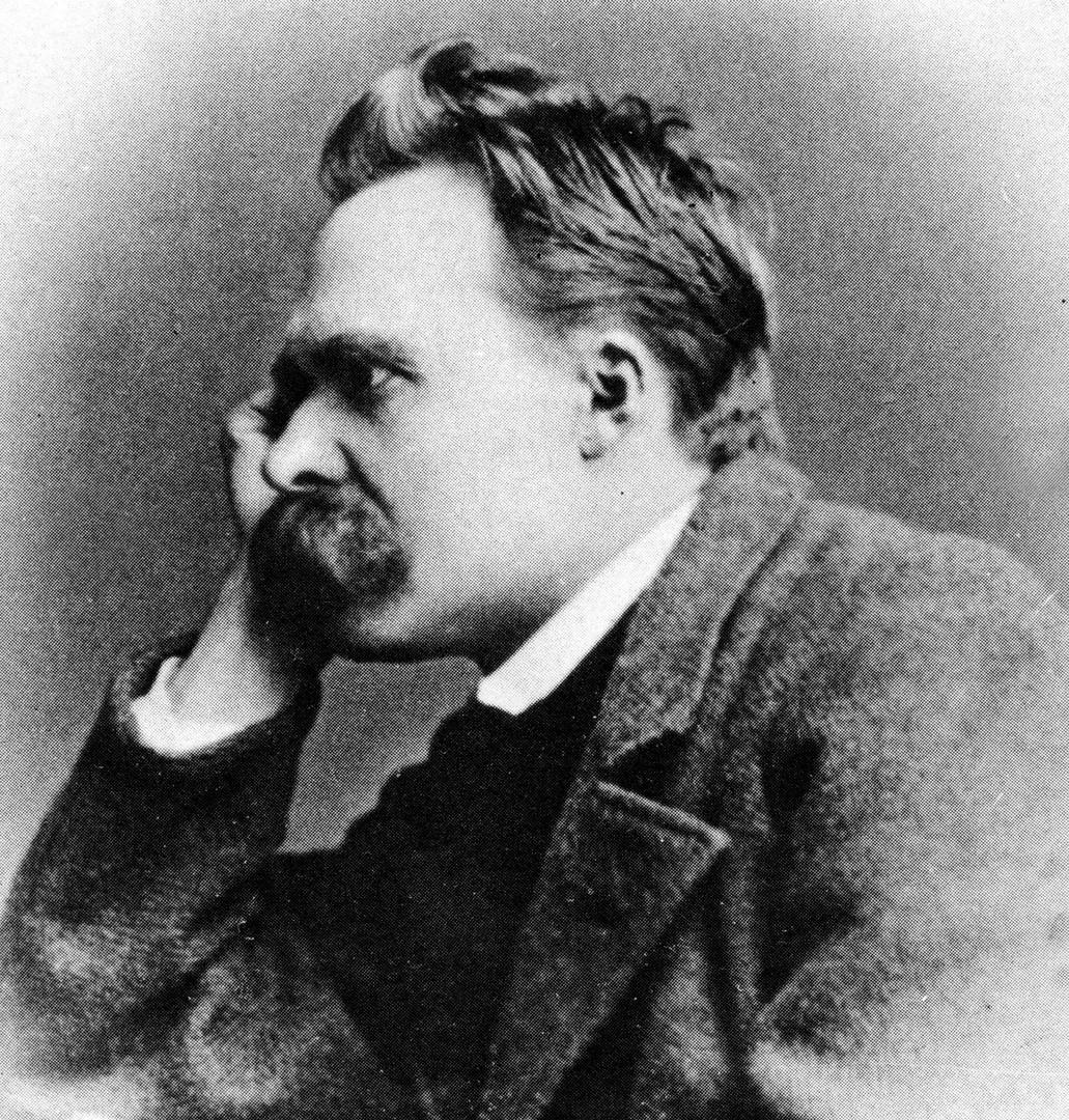 Friedrich (Wilhelm) Nietzsche, deutscher Philosoph und klassischer Philologe., 15.10.1844-25.08.1900