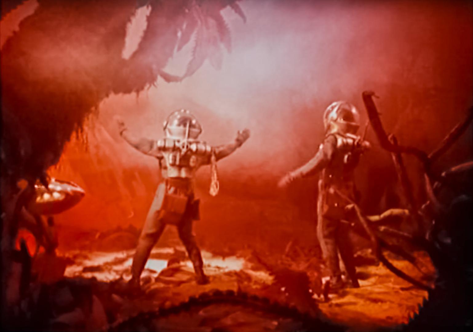 """O soviético """"Planeta blur"""" (1962) não fez sucesso em casa, apesar de ter os direitos de exibição vendidos a 28 outros países e ganhar um remake norte-americano em 1965."""