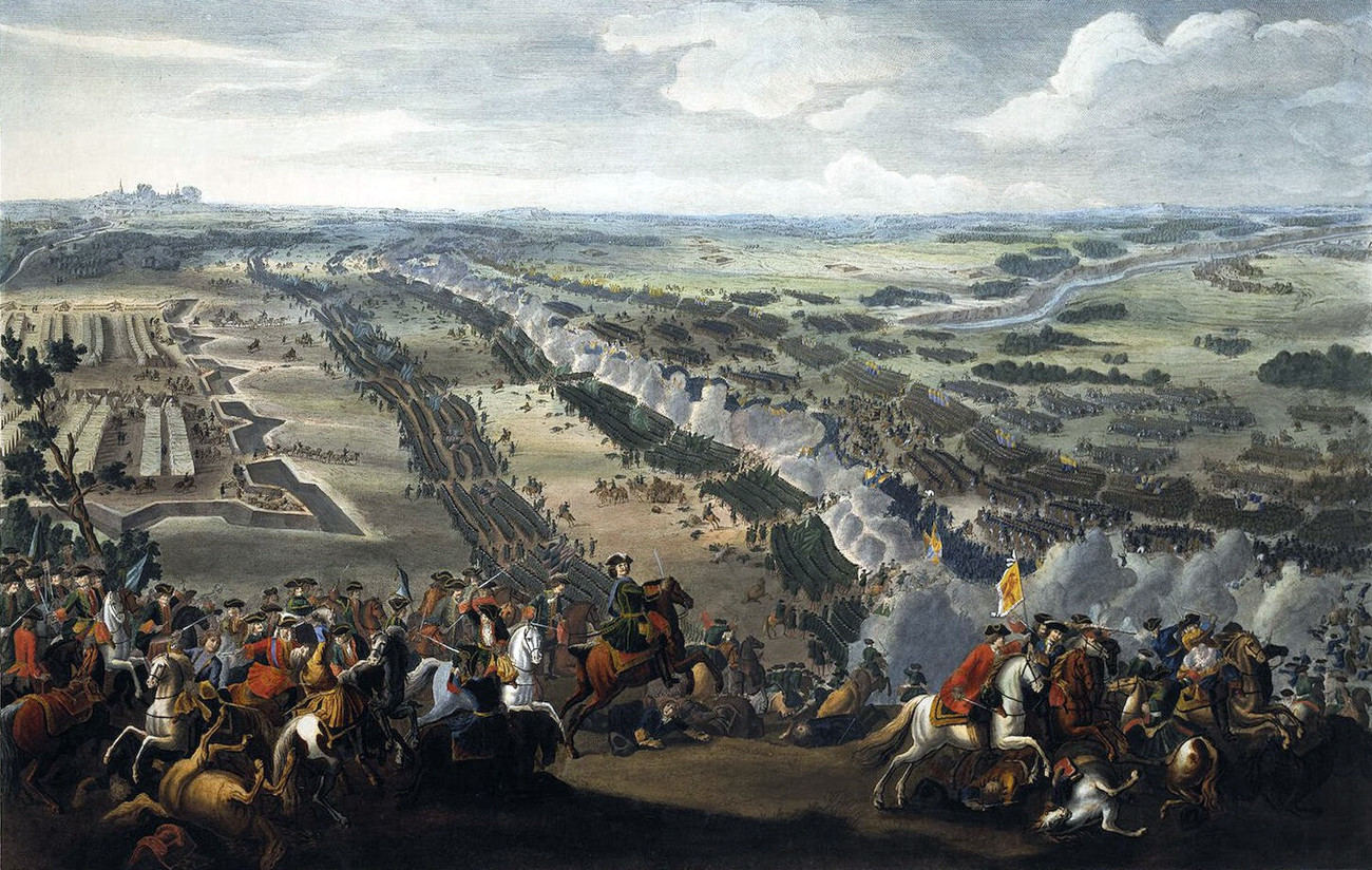 「ポルタヴァの戦い」、1726年