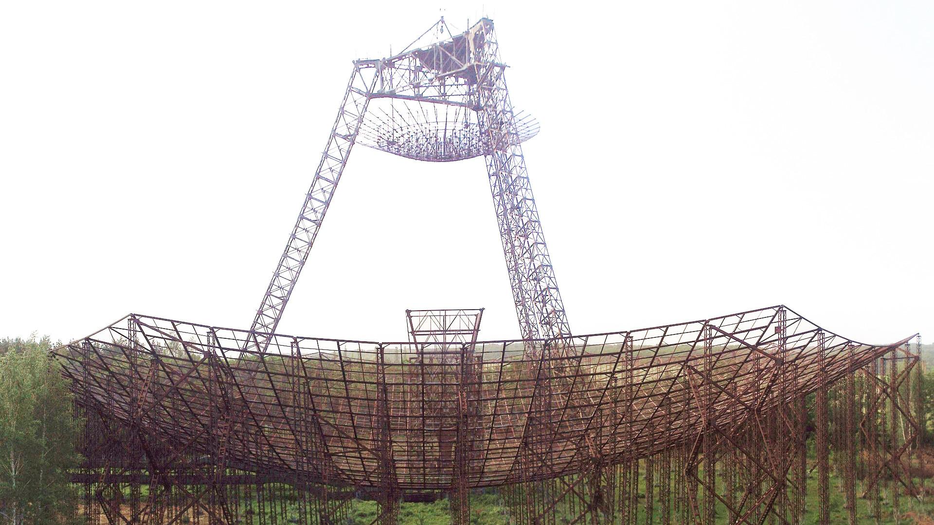 大気圏の上層部、電離層を研究する初期の施設の一つは、1950年代に現ウクライナのハリコフ(ハルキウ)市郊外のズミヨフ(ズミイフ)市に建設された。