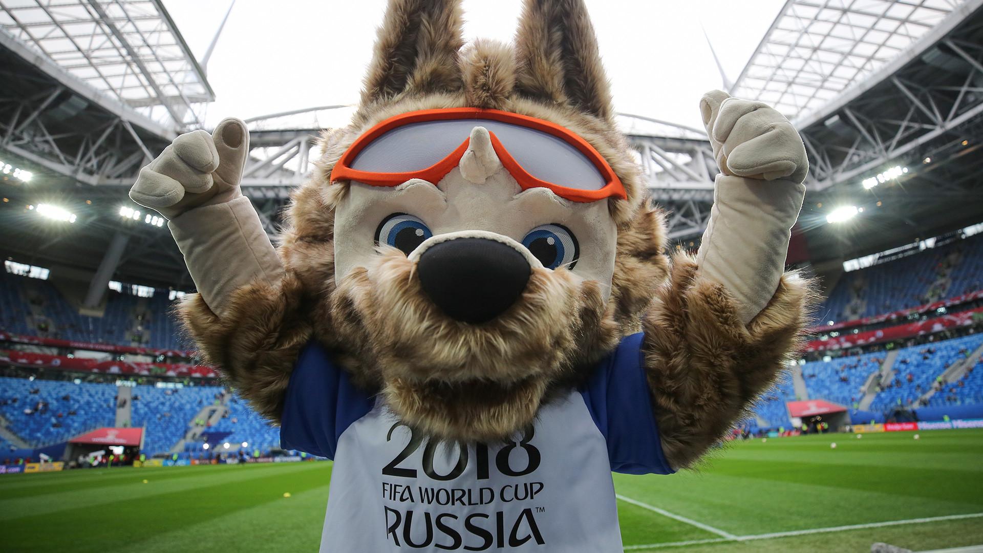 Vuk Zabavika - maskota Svjetskog prvenstva 2018. u Rusiji