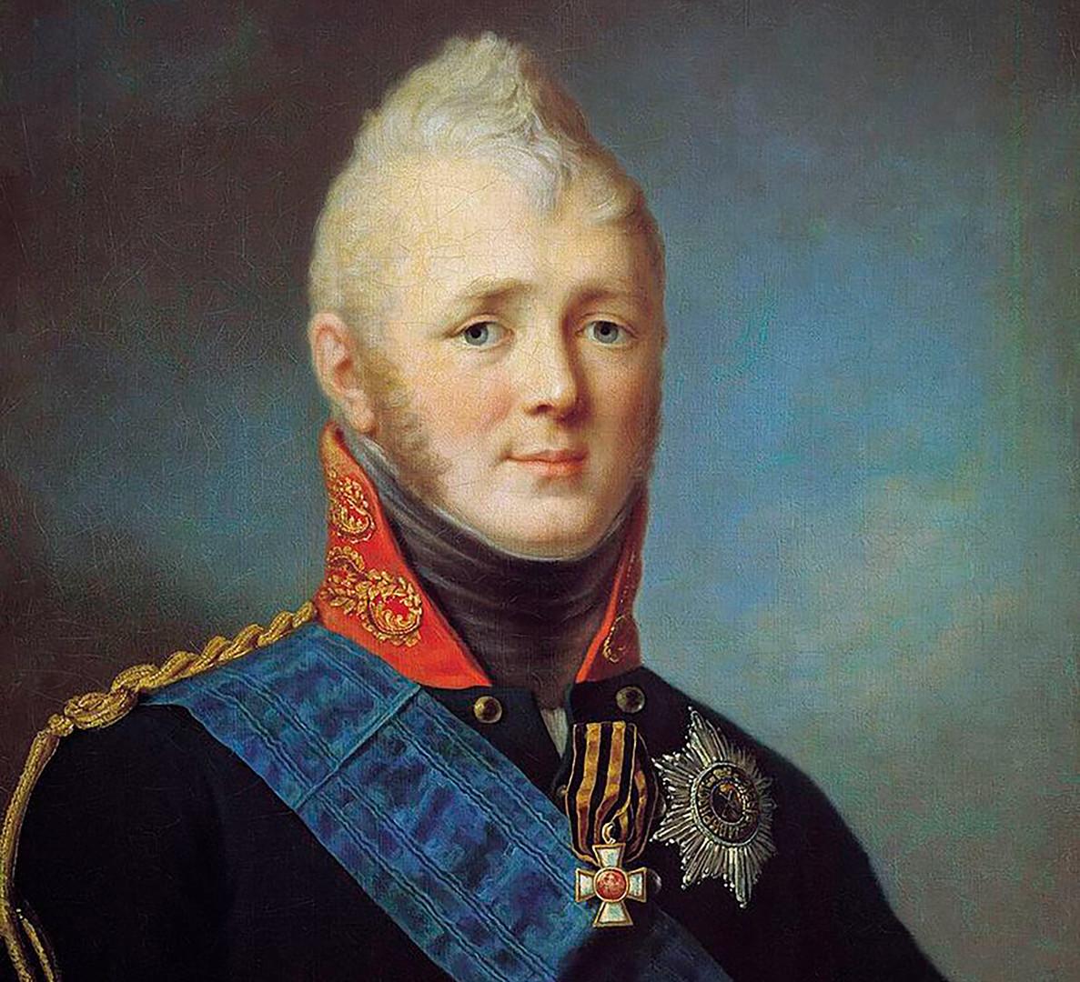 Aleksander I. Portret Stepana Ščukina