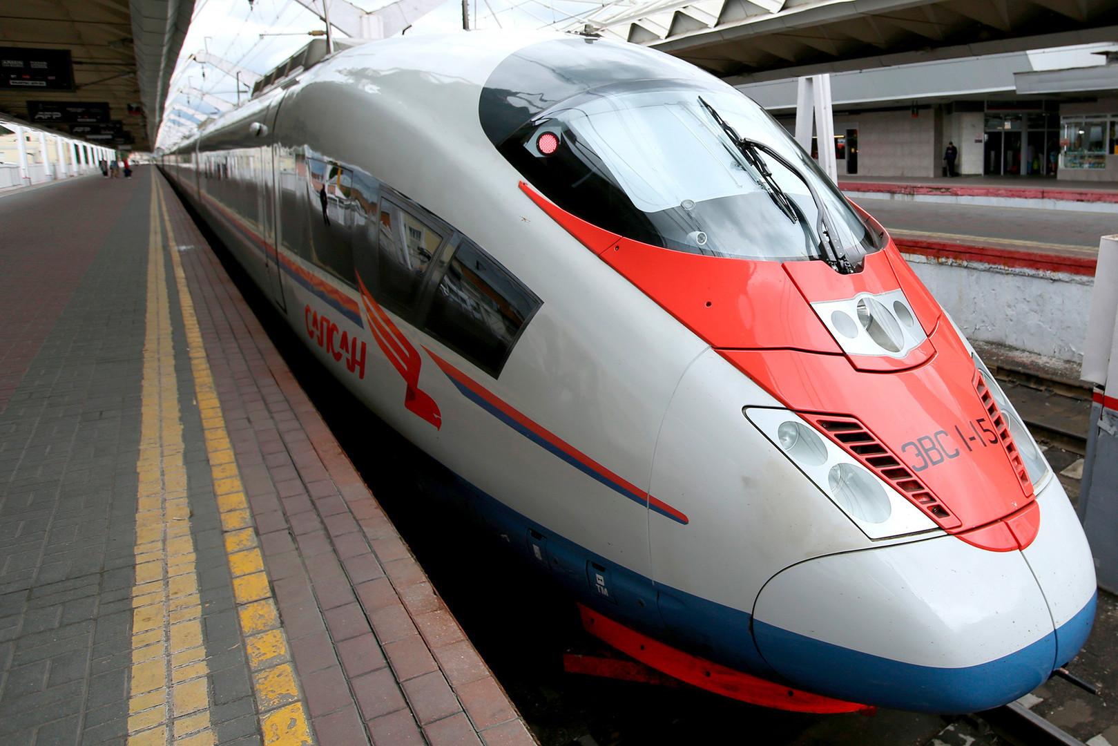 Trens rápidos são boa alternativa no trajeto aeroporto-centro e entre cidades russas