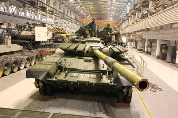 Т-72Б3 в Уралвагонзавод, 2014 г.