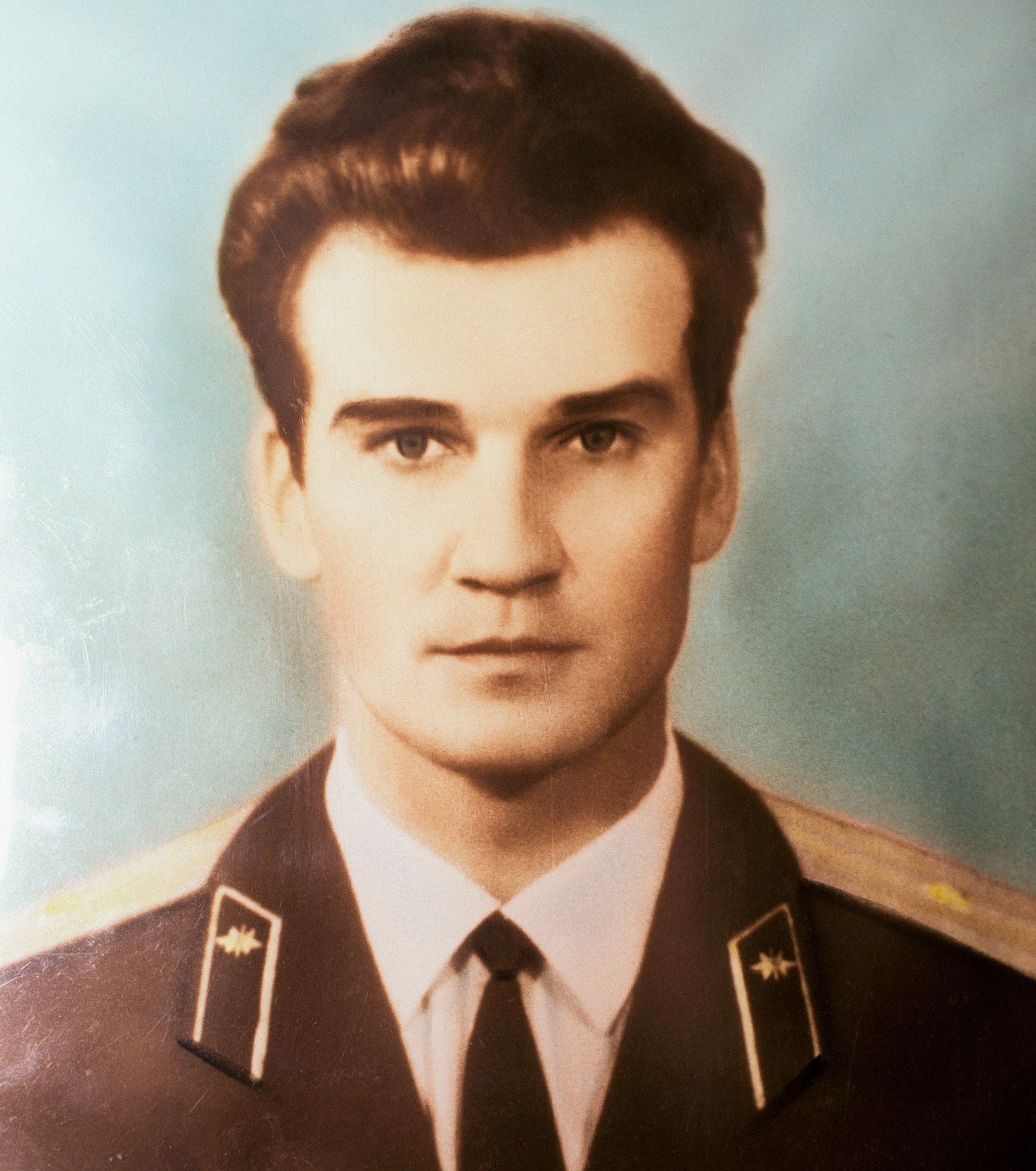 Stanislav Petrov de joven.