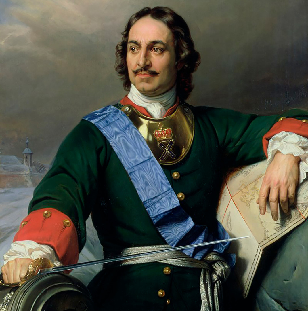 Петар Велики. Дело на францускиот уметник Пол Деларош