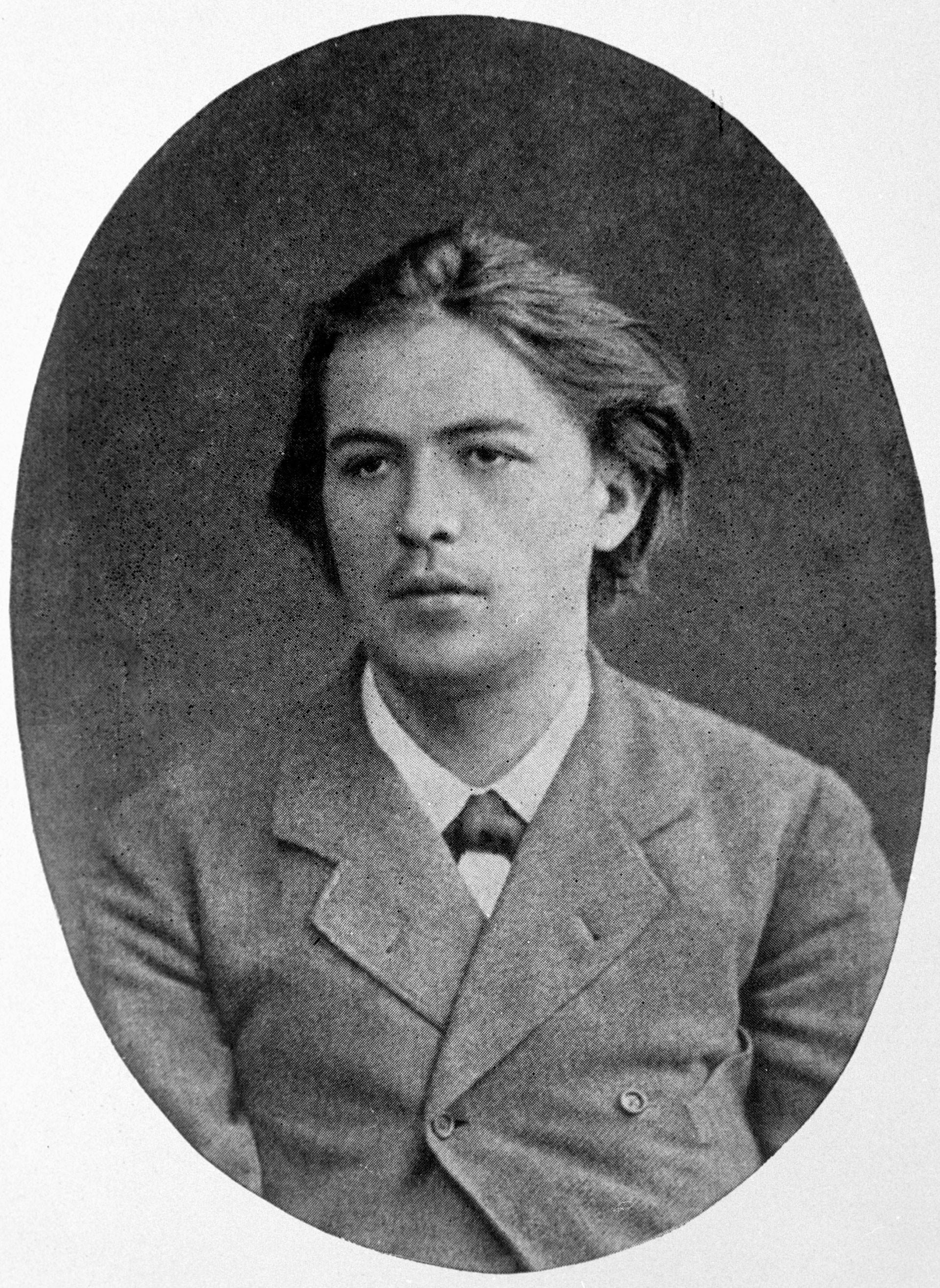 Kaum zu glauben, daber dieser junge Mann auf dem Bild ist Anton Tschechow. 1883 war der spätere Dramatiker noch Student der Medizinischen Fakultät der Moskauer Staatsuniversität.