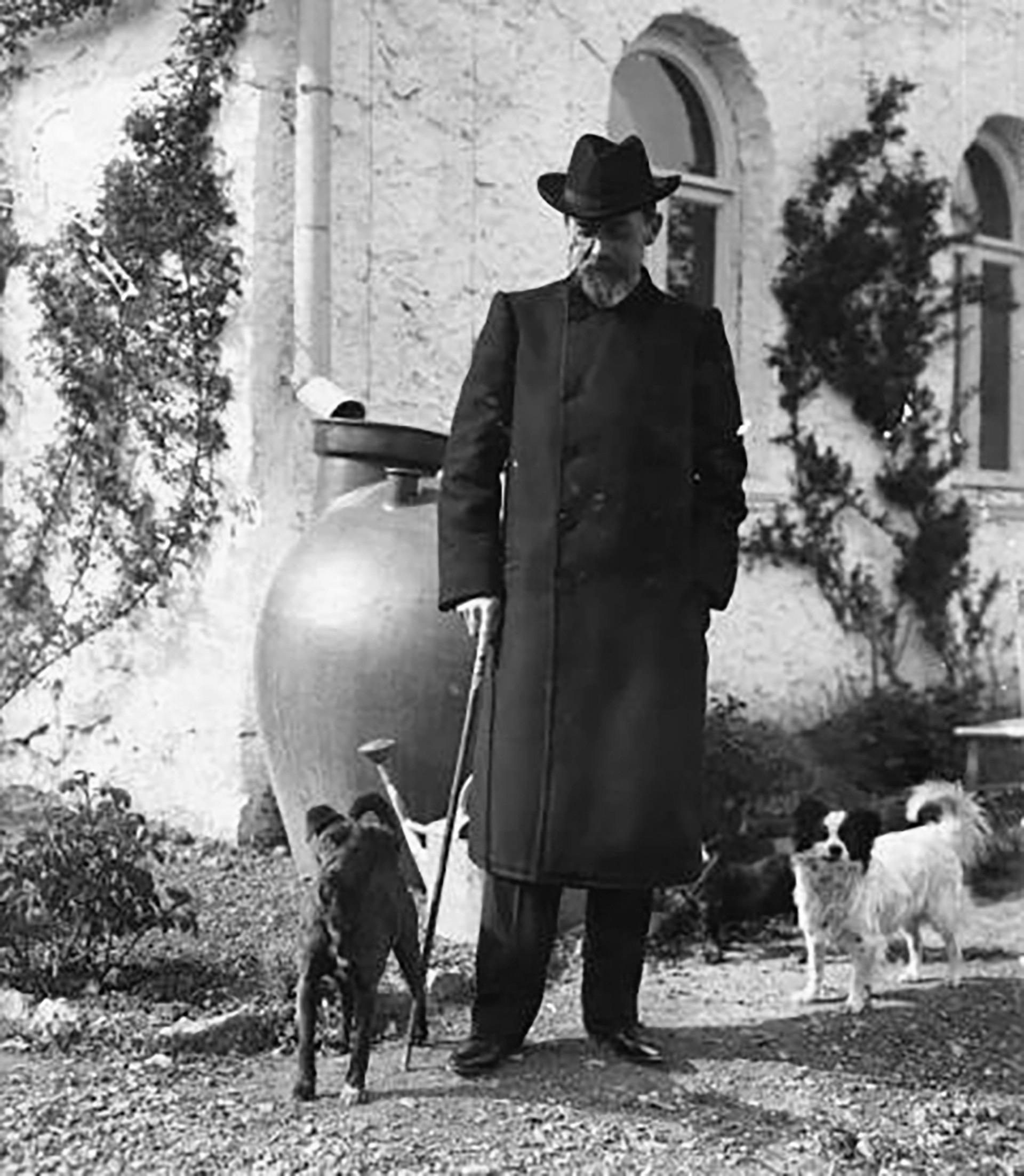 Ja, Tschechow war ein Hunde-Liebhaber! In den ersten Jahren des 20. Jahrhunderts nahm er sie gar mit auf eine Reise nach Jalta auf der Krim - genau, den Ort, wo später auch seine Novelle