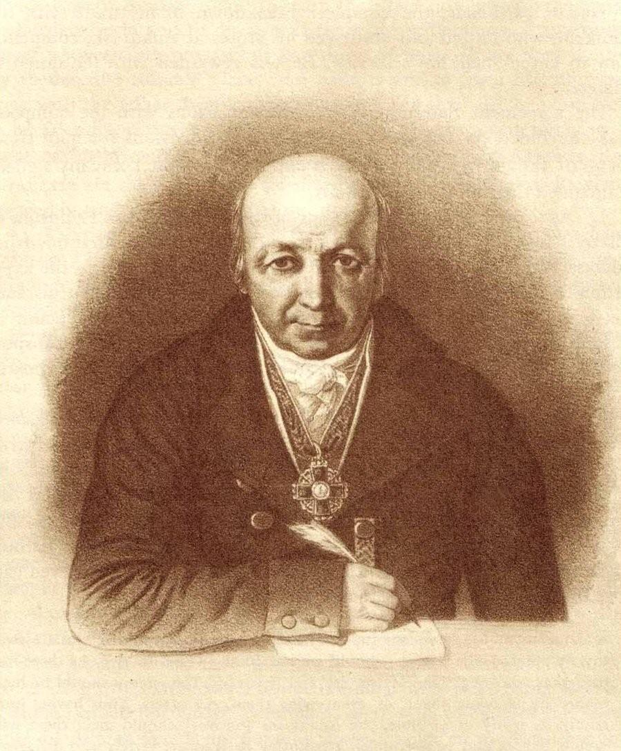 Der Kaufmann Alexander Baranow.
