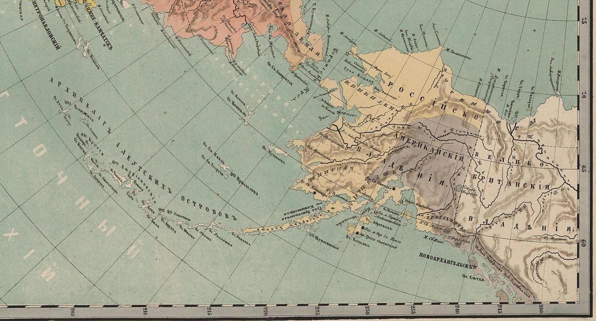 Russisch-Amerika, 1860