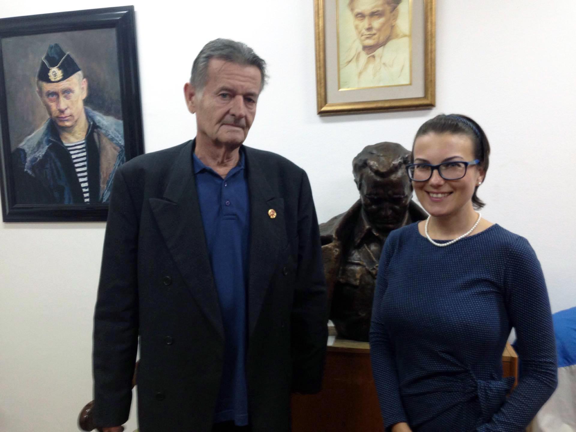 Јошка Броз и Катарина Лане