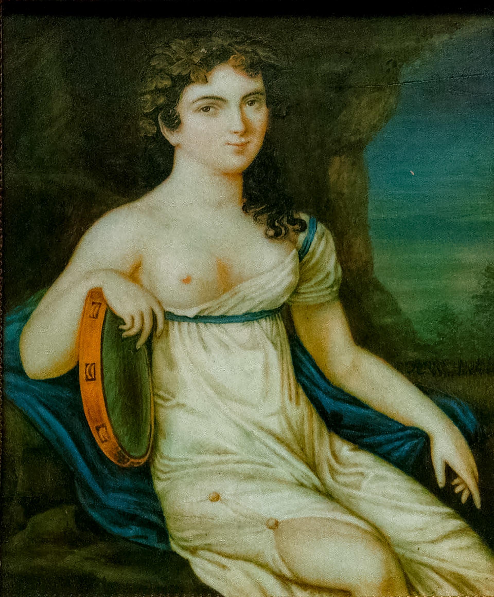 アヴドチヤ・イストミナの肖像、1815年〜1818年
