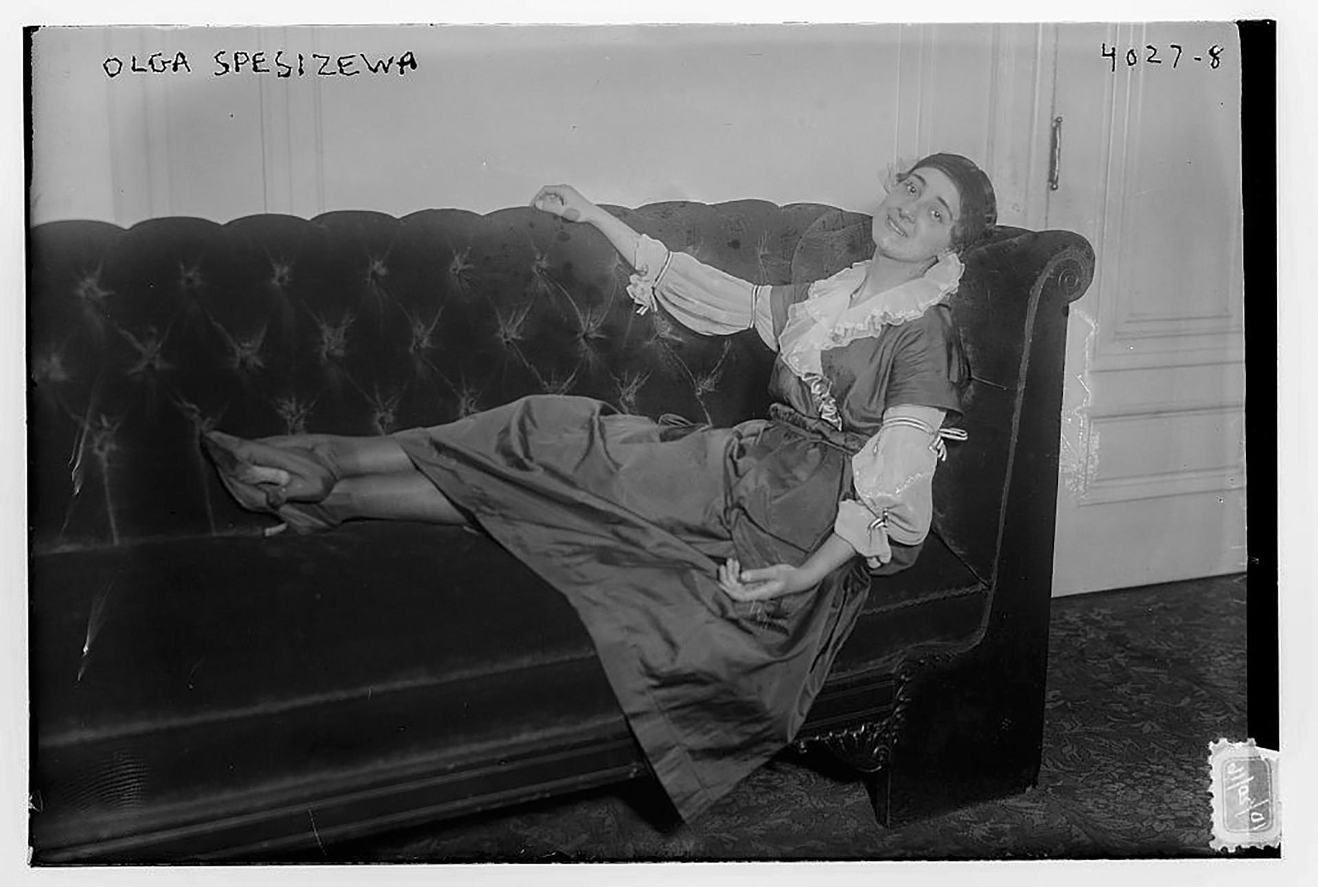 オリガ・スペシフツェワ、1917年