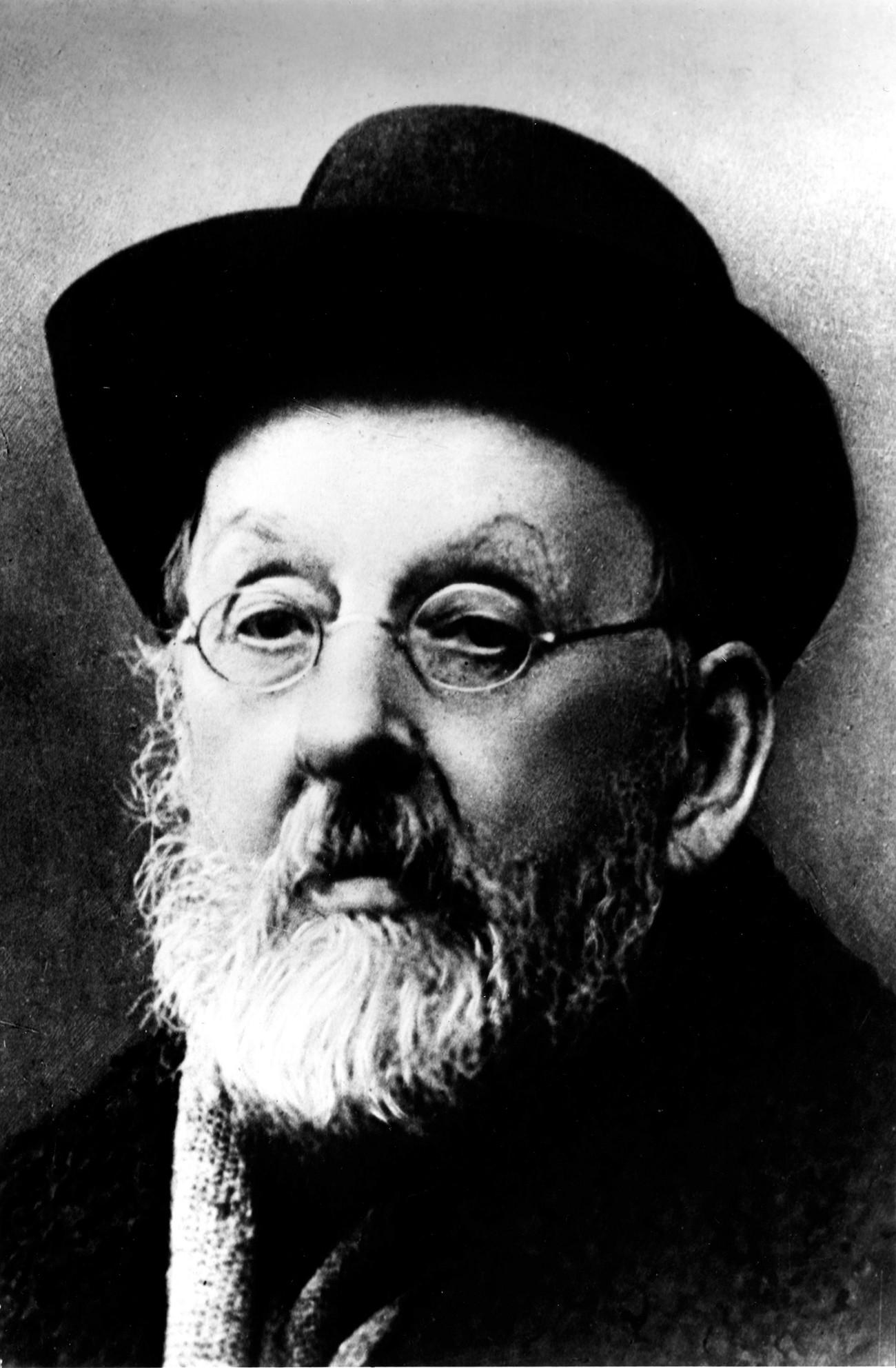 Konstantín Tsiolkovski.