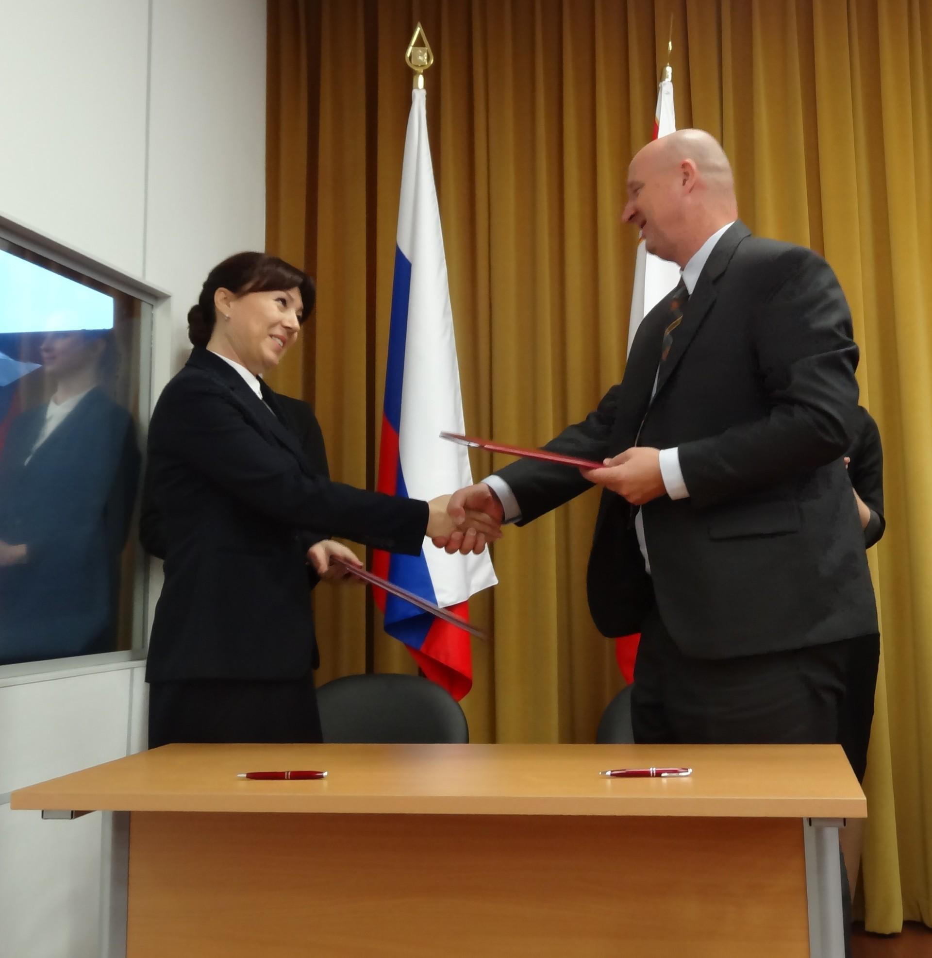 Podpis Memoranduma o razumevanju med Korporacijo za razvoj regije Vologda in Javno agencijo SPIRIT Slovenija.