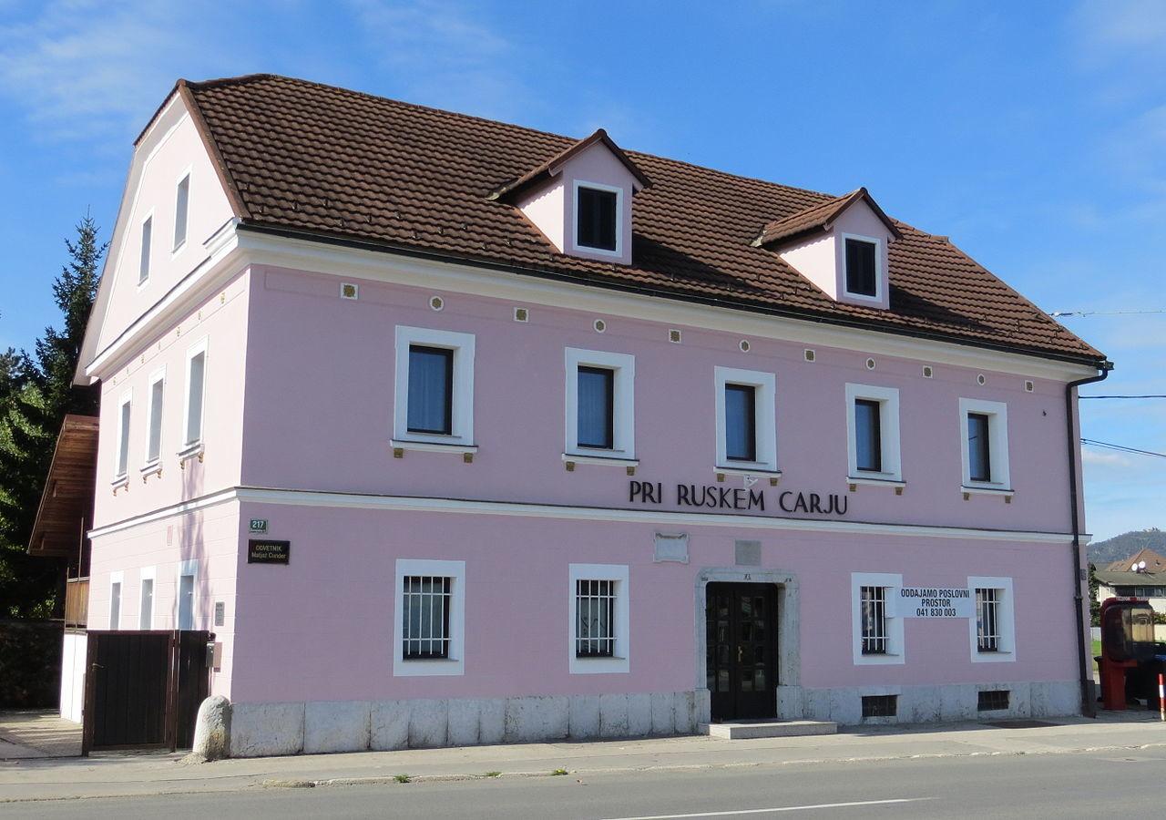 Spomin na obisk ruskega carja v Ljubljani živi še danes.