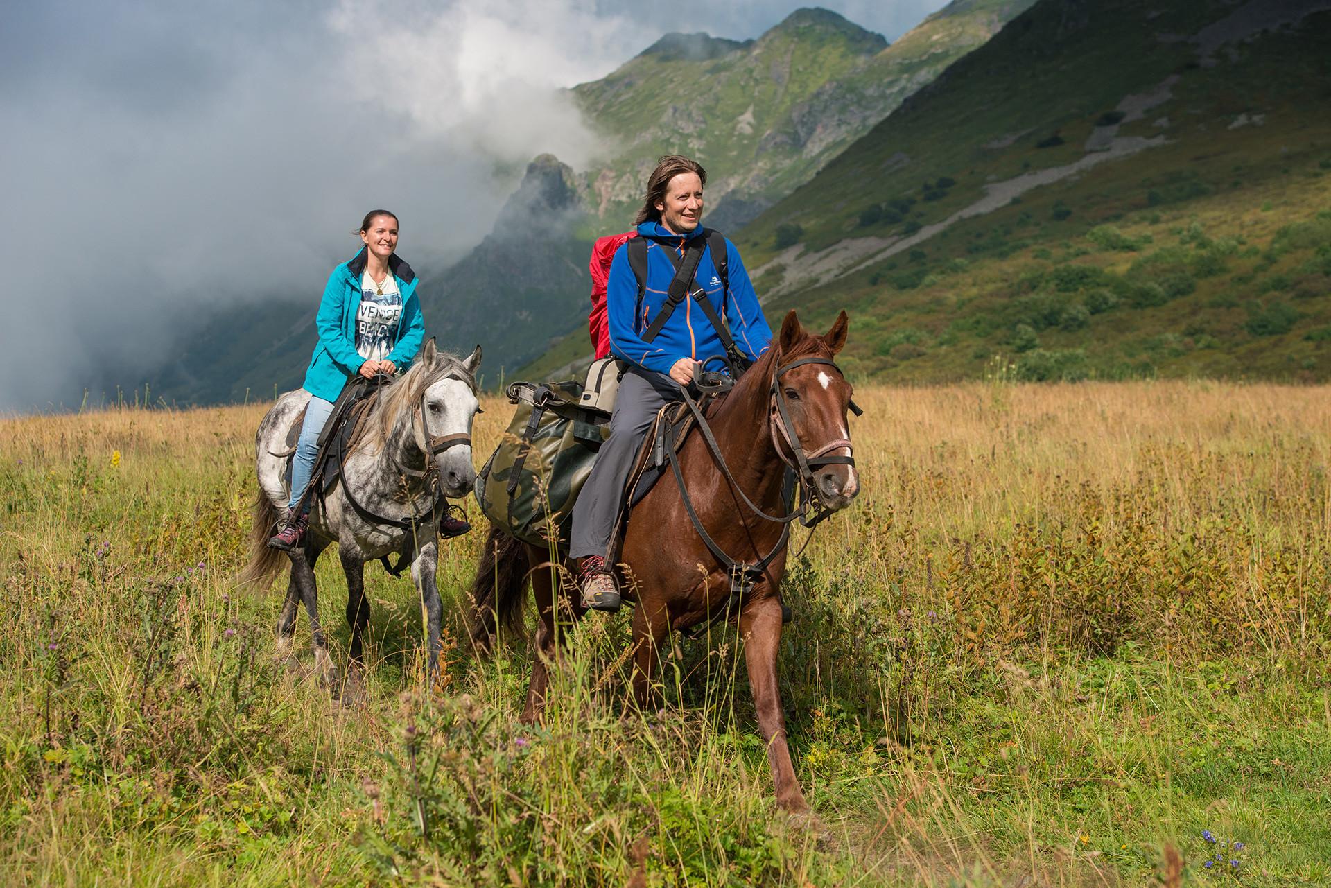 Turisti na konjima