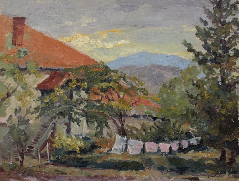 Јесење вече у Србији